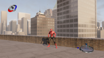 """Spider-Man 3: The Game """"Red-Black Suit my version"""""""