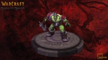 Демонстрация вариантов персонажа Грут в моде Warcraft: Armies of Azeroth.