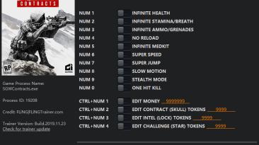 Sniper: Ghost Warrior Contracts: Трейнер/Trainer (+14) [1.0] {FLiNG}
