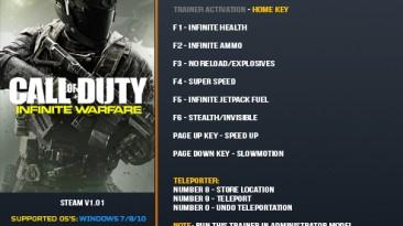 Call of Duty: Infinite Warfare: Трейнер/Trainer (+10) [1.01] {LinGon}