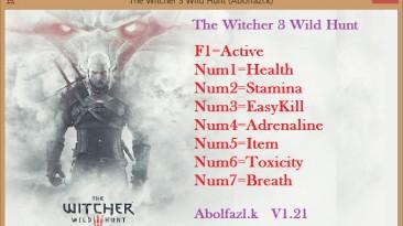 The Witcher 3: Wild Hunt / Ведьмак 3: Дикая Охота: Трейнер/Trainer (+7) [1.21] {Abolfazl.k}