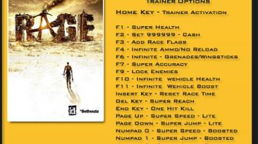 Rage: Трейнер/Trainer (+18) [1.0.34.2015] {LinGon}