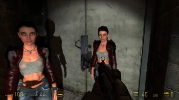 Half-Life 2 - редкие кадры мимики лица Аликс Вэнс