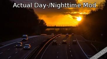 """American Truck Simulator """"Актуальная длительность светового дня (1.41.x)"""""""
