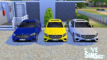"""Sims 4 """"Mercedes-Benz GLC Coupe от LorySims"""""""