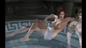 """God of War 2 """"Девушки в игре"""""""
