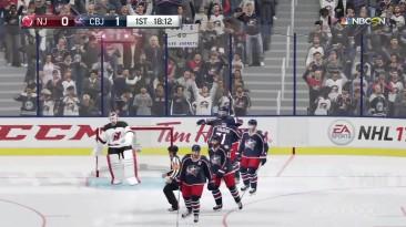 10 минут кооперативного геймплея NHL 17
