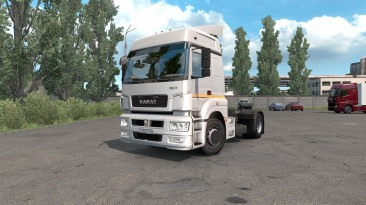 "Euro Truck Simulator 2 ""КАМАЗ-5490 NEO / 65206 версия 0.1.3 от 22.08.2020 для 1.37-1.38"""