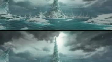 Warcraft 3: Концовка TFT - Улучшенный ролик vs ориганл