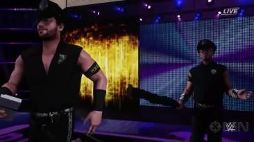 WWE 2K18 вход Breezango