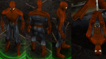 "Marvel: Ultimate Alliance ""Spider-man Noir (Red&Gray)"" by UltimateVeNoM's"