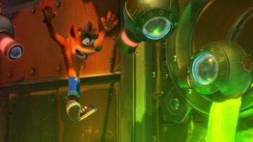 Состоялся релиз улучшенной версии Crash Bandicoot N. Sane Trilogy