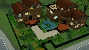 "Sims 3 ""Особняк Двойной"""
