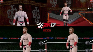 "WWE 2K17 ""Sheamus Wrestlemania 37 Наряд (Лицевая анимация) WWE 2K19 Порт Мод"""