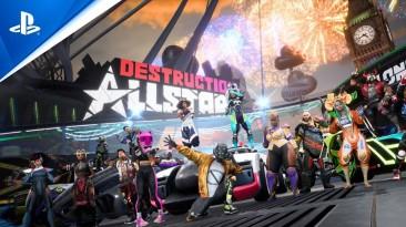 Подробности о режимах онлайн-экшена Destruction AllStars для PS5