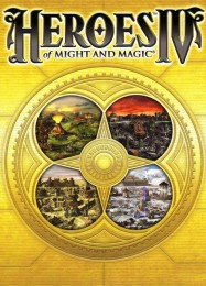 Обложка игры Heroes of Might and Magic 4