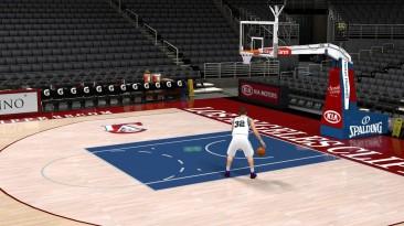 "NBA 2K11 ""HD площадка LA Clippers"""