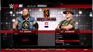 "WWE 2k16 ""Otis, Sgt рендеры"""