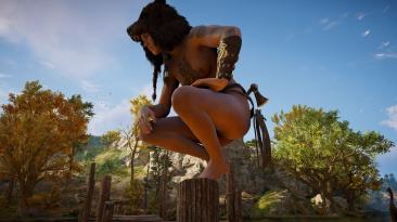 "Assassin's Creed: Valhalla ""Обнажающий мод"""