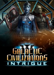 Обложка игры Galactic Civilizations 3: Intrigue