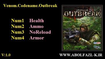 Venom. Codename: Outbreak: Трейнер/Trainer (+4) [1.0] {Abolfazl.k}