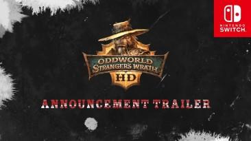 Oddworld: Stranger's Wrath появится на Nintendo Switch 23 января