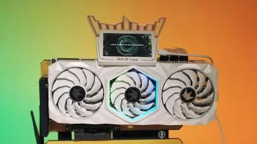 Galax GeForce RTX 3090 HOF разогнали, прошив BIOS с лимитом мощности в 1 кВт