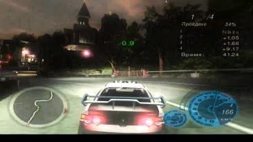 "Need for Speed: Underground 2 ""(HD) прохождение трассы Прогулка # 2 """