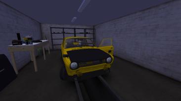 """My Summer Car: Сохранение/SaveGame (Турбо Satsuma под кликухой """"Пчёлка"""", 500,000 марок, все автомобили. Много еды)"""