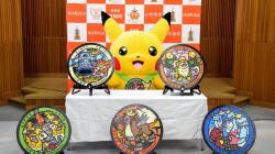 В Японии появилось еще больше канализационных люков с изображениями разных покемонов на крышках