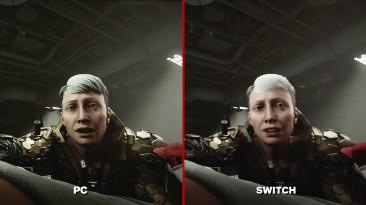 Wolfenstein 2: The New Colossus Сравнение графики - Nintendo Switch vs. PC
