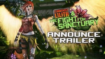 Трейлер дополнения Commander Lilith & the Fight for Sanctuary для Borderlands 2