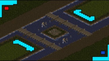 """StarCraft """"Map The battle for the Temple"""""""