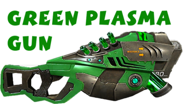 "Serious Sam 2 ""Green plasma gun"""