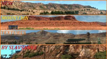 "American Truck Simulator ""New Mountain Textures V7.7"" (v1.34)"