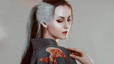 Косплей женской версии Волка из Sekiro