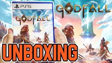 Появилась первая распаковка диска для PlayStation 5 - консольного эксклюзива GodFall