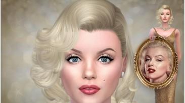 """The Sims 4 """"Симка Мэрилин Монро"""""""
