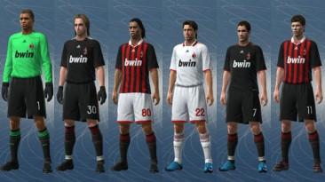 """PES 2009 """"Milan 09/10 Kit Set by jvinu2000"""""""