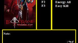 BloodRayne 2: Terminal Cut: Трейнер/Trainer (+3) [1.0] {Abolfazl.k}