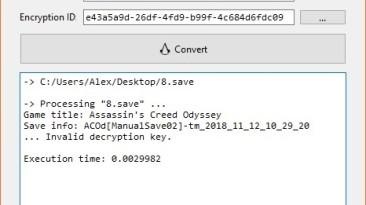 Assassin's Creed: Odyssey: Конвертер Сохранений / Save Convert Tool (ACSaveTool) [2.3.1] {Linus L.}