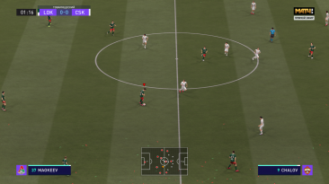 "FIFA 21 ""Логотип телеканала Матч ТВ"""