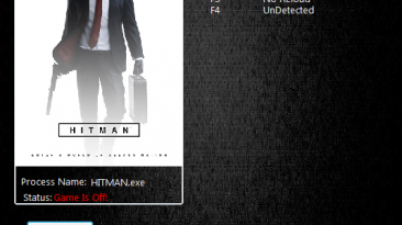 Hitman 6: Трейнер/Trainer (+4) [1.14.3] {MrAntiFun}