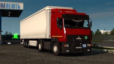 """Euro Truck Simulator 2 """"МАЗ-5440А8 / 6430А8 / 5340А8 версия от 08.03.2021 (1.39-1.40)"""""""