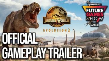 Новый трейлер Jurassic World Evolution 2 включает в себя двух новых динозавров и Джеффа Голдблюма