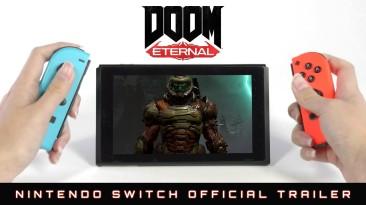 DOOM Eternal выйдет на Nintendo Switch 8 декабря. Трейлер и скриншоты