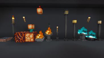 """Minecraft """"Расширенное освещение [1.16.1] [1.15.2]"""""""