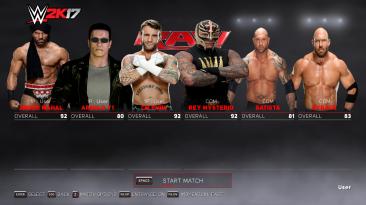 "WWE 2K17 ""Super Star Pack MOD"""