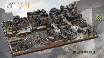 Геймер построил карту из Battlefield 1 с помощью деталей LEGO