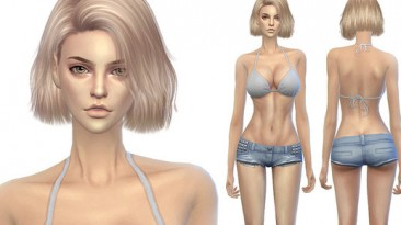 "Sims 4 ""Сборка реалистичной кожи для Ж (2020)"""
